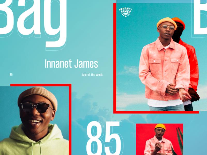 Jam of The Week | 85 music art album cover art album cover album art music pitchfork canadian hip hop hiphop innanet james ux ui web branding product design website typography illustration graphic design design jam of the week