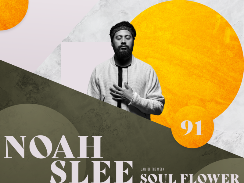 Jam of The Week | 91 hip hop flower power soul flower album art album cover cover art rogue studio noah slee music nu-funk neo-soul soul texture illustration jam of the week typography graphic design design