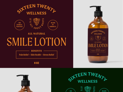 Sixteen Twenty: Dead Direction calm wellness label packaging label cbd skincare package design packaging cbd packaging lotion branding concept all natural product product design illustration branding typography graphic design design