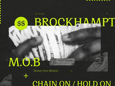 Jam of the Week | 101 jpgmafia money ep album cover music album art boy band hiphop product design illustration branding typography graphic design design brockhampton jam of the week