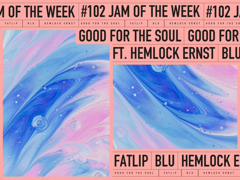 Jam of the Week | 102 album cover design album cover art hip-hop new music album art music product design illustration branding typography design graphic design blu fatlip abstract jam of the week