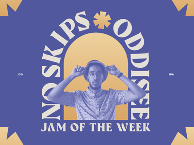 Jam of The Week | 106 rogue studio music jam editorial cover art cover art editorial illustration bold design passion project product design branding illustration typography design graphic design album art hip-hop oddisee jam of the week