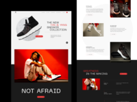 NEW WORK: Coming Soon shoes store online store retail ecommerce shop ecommerce 3d printing sneakers streetwear brand shoes product design branding ux typography website web ui graphic design design