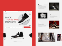 NEW WORK: Sneakerheads stay tuned elegant tech 3d printing streetwear brand online store web design sneakers ui sneakers ecommerce design ecommerce product design branding typography website web graphic design ui design