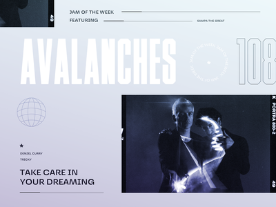 Jam of The Week | 108 editorial art music hip-hop denzel curry rogue studio passion project album art album cover tricky sampa the great illustration the avalanches product design branding typography graphic design design jam of the week