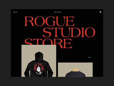 Rogue Store: Product Transition web designer rogue studio rogue store online store retail ecommerce animation web development ui animation web design illustration product design branding ux website typography web ui graphic design design