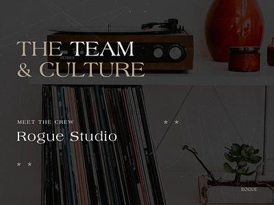 Rogue Team Profiles rogue team team page digital design branding agency branding design product design branding ux website web ui graphic design design typography culture about us team profiles rogue studio