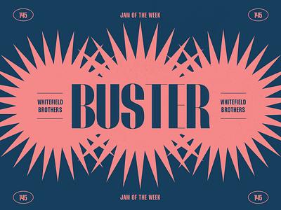 Jam of the Week  | 145 funk music whitefield brothers album art vintage jam of the week creative direction illustration web branding website typography design graphic design