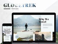 GlobeTrek – Behance Case Study