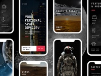 Spaced Mobile Homepage