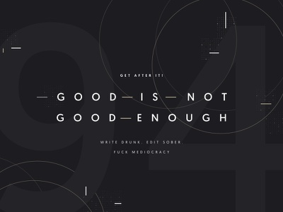 Cover Design | Inspirational Quote cover design dark type typography quote inspirational quote