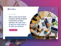 Cloud Now Homepage - Sneak Peak