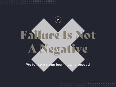 04 - Failure Is Not A Negative medium article cover image stuff cool design inspiration quote