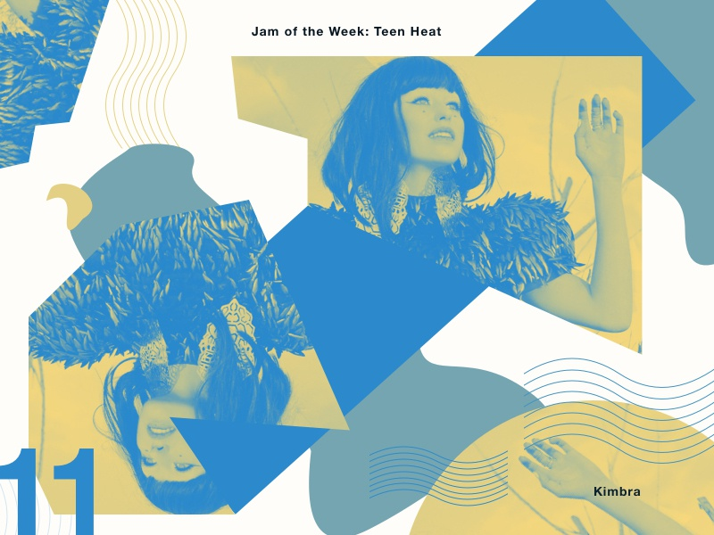 Jam Of The Week | 11 design art direction kimbra jam of the week tunes grooves jams music