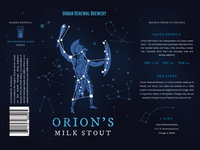 Orions Milk Stout