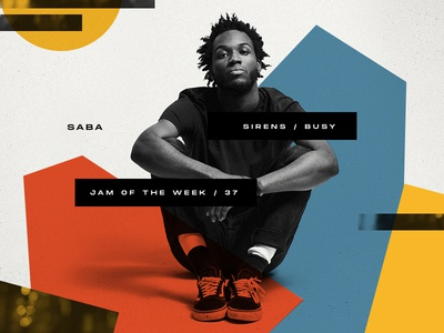 Jam Of The Week | 37 collage bluenote saba typography graphic art cool vector graphic  design music design