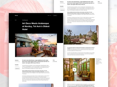 Upcoming Work website graphic design blog travel ux web ui design