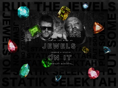 Jam Of The Week | 40 jam of the week jewels run the jewels music artwork music graphic design cool design