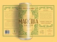 Marcella Beer Label