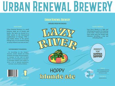 Lazy River - Hoppy Blonde Ale