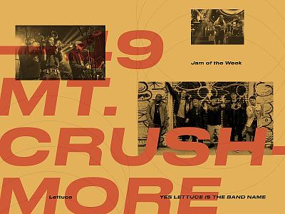 Jam of the Week   49 design graphic design music art funk music jam of the week