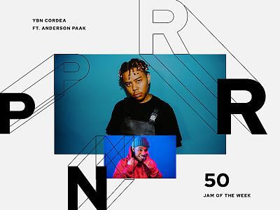 Jam of the Week   50 typogaphy music design graphic design