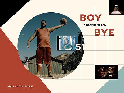 Jam of The Week | 51 brockhampton straight bangah jam of the week cool music graphic design design