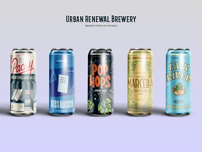 Beer on Beer design graphic design illustration beer labels package design packaging beer can design beer