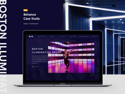 BIG - Behance Case Study
