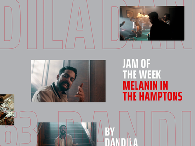 Jam Of The Week | 63 dandila graphic design hiphop music jam of the week