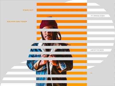 Jam Of The Week 66 art geometric design passion project jamming album art hiphop music branding daveed diggs art direction vector graphics typography graphic design jam of the week