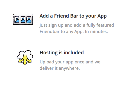 Hosting is included