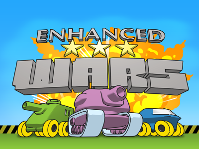 3d logo illustration for enhanced wars