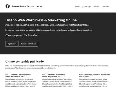 Fernan Díez Website