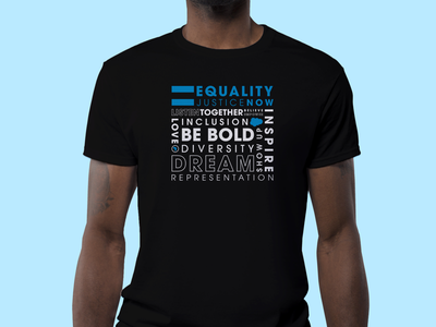 Equality. Justice. NOW! boldforce salesforce representation martin luther king social justice justice mlk equality