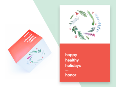 Honor Holiday Card 2016