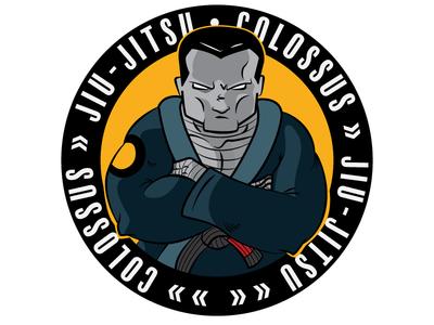 Colossus Jiu Dribbble colossus illustration jiu-jitsu