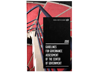 Book - Guidelines for governance cover graphic design book