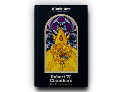 Book - Black box collection - Robert W. Chambers king in yellow king chambers illustration book cover