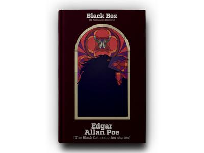 Book - Black box collection - Edgar Allan Poe raven poe allan edgar illustration book cover