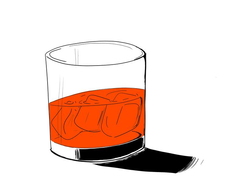 drink for winter night book graphic design illustration