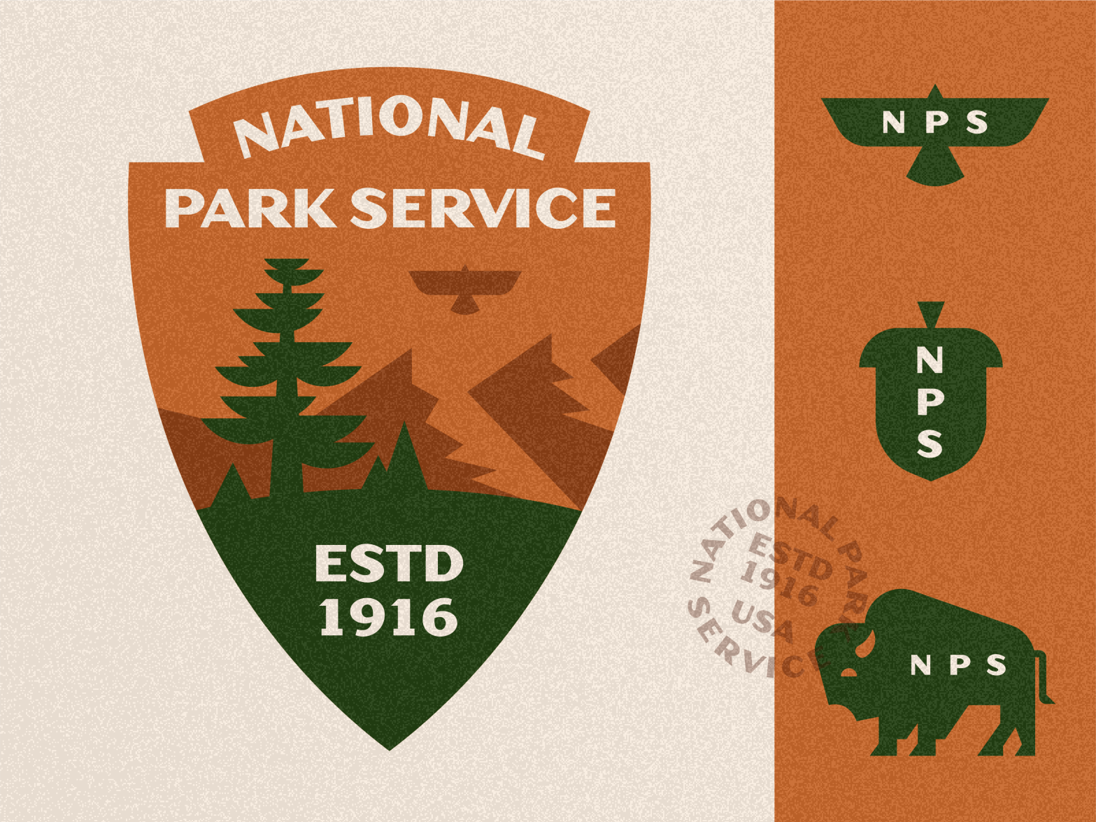 U.S. National Park Service - Badge Redesign