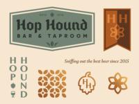 Hop Hound - Brand Assets round 2