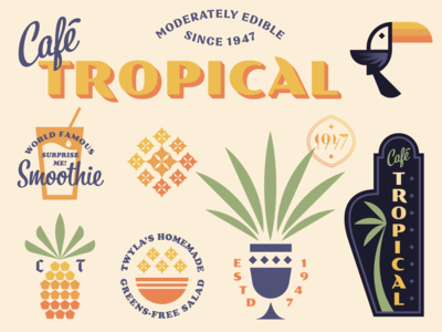 Cafe Tropical (from Schitt's Creek)
