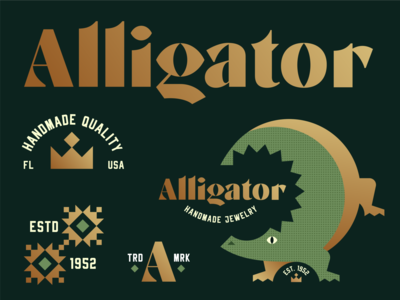 Brandimals 01 - Alligator