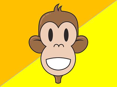Marco monkey illustration vector