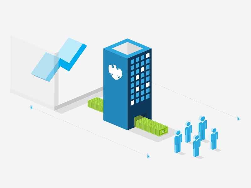 Kris cook illustration design isometric barclays