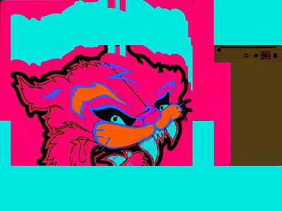 `DEEP-FRIED` glitch pixel sorter after effects defaulterror loop video illustration ills minimal design gif motion c4d meme fried deep