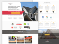 Roof Repair Squad Landing Page