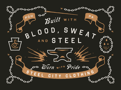 Blood, Sweat, and Steel